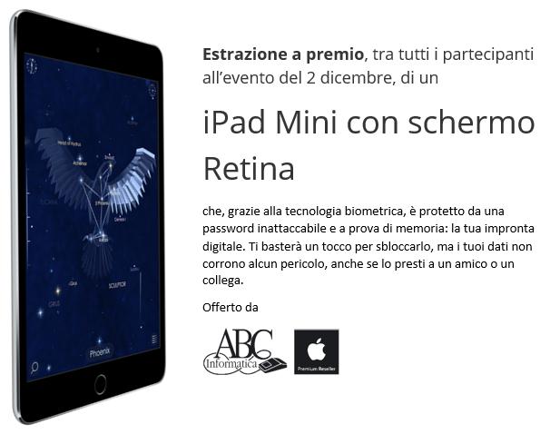 Estrazione a premio iPad Mini